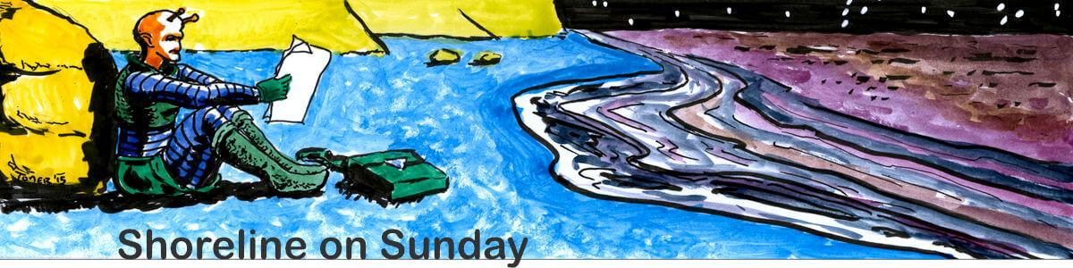Shoreline on Sunday