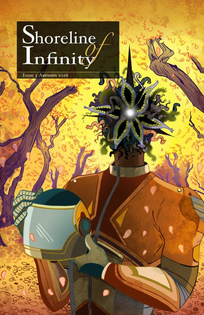 Shoreline of Infinity 5 cover by Sara Julia