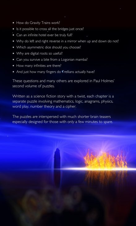 The Galactic Festival Back Cover