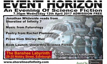Event Horizon – Live Science Fiction – 12th April 2017