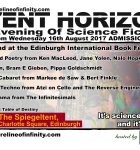 Shoreline of Infinity Event Horizon  - Unbound at the Edinburgh International Book Festival 16th August