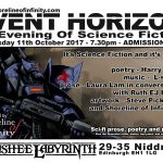Shoreline of Infinity Event Horizon 24 –  11th October 2017