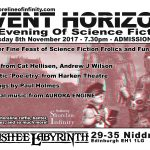 Shoreline of Infinity Event Horizon  8th November 2017