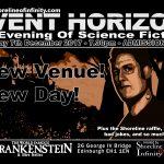 Shoreline of Infinity Event Horizon THURSDAY 7th December 2017