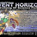 Shoreline of Infinity Event Horizon – Thursday 14th June 2018