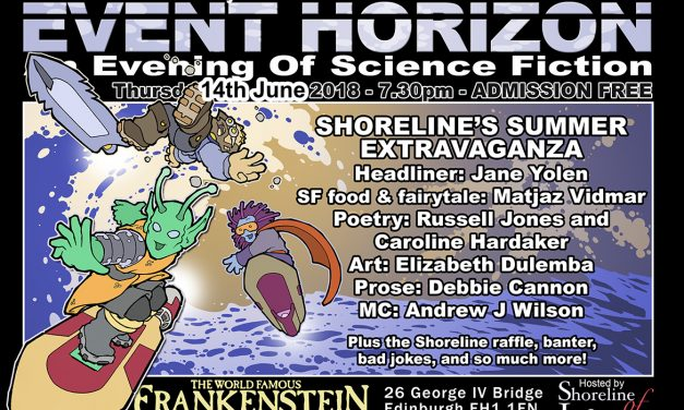 Shoreline of Infinity Event Horizon – Thursday 14th June 2018