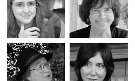 Ada Palmer, Jane Yolen, Jo Walton, and Rachel Plummer