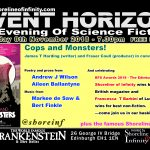 Shoreline of Infinity Event Horizon – Thursday 8th November 2018