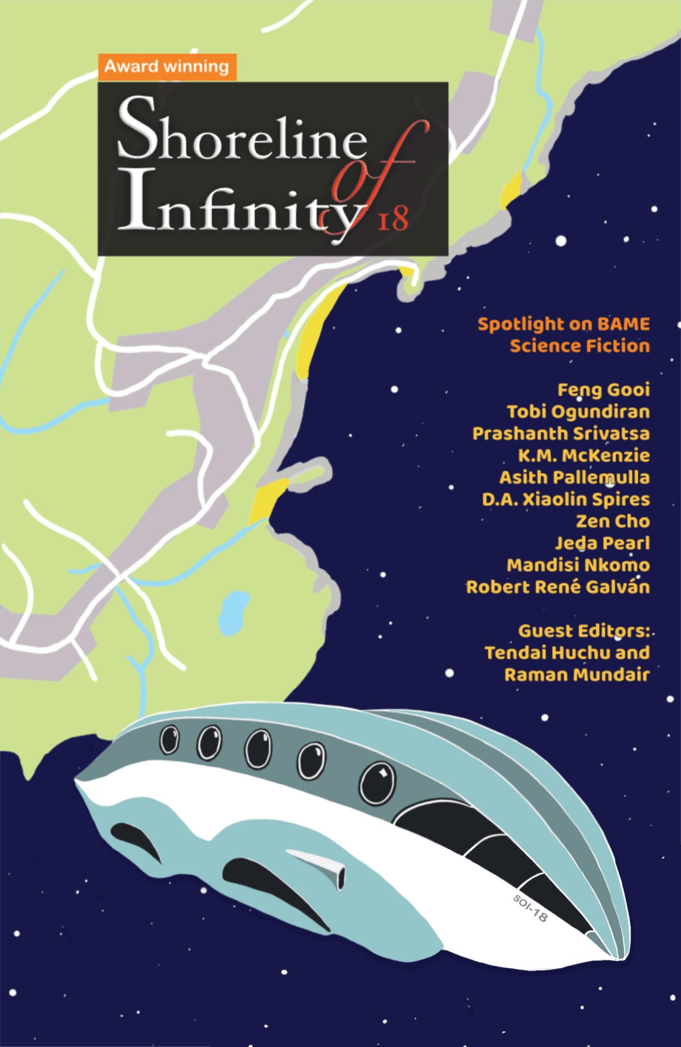 Shoreline of Infinity 18: Spotlight on BAME science fiction