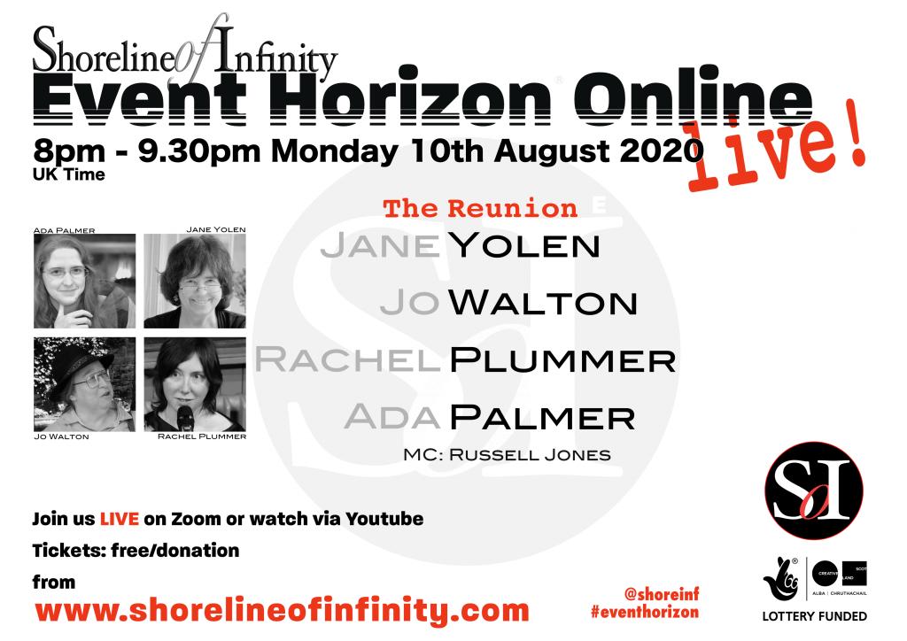 Yolen Walton Plummer and Palmer – Evwnt Horzion Online Live!