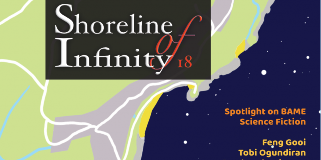 Shoreline of Infinity 18 Cover