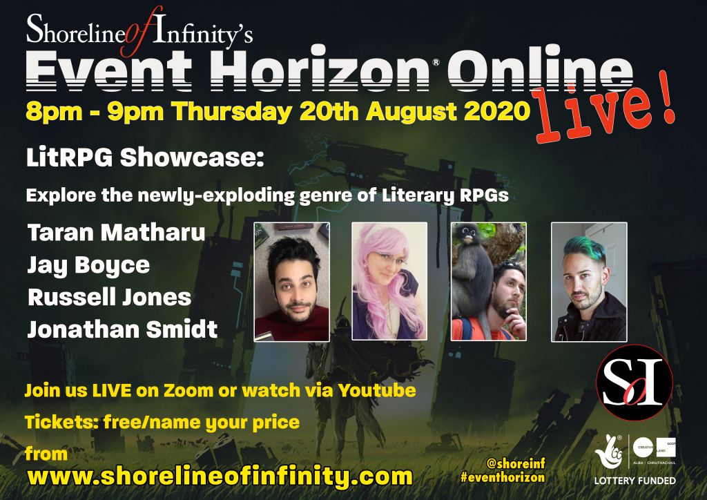 Event Horizon OL 56 LitRPG Showcase